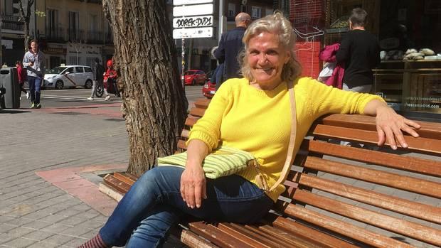 Schwört auf spanische Speisen:die frühere Journalistin Pachi (70)
