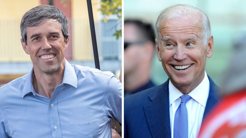 Beto O'Rourke und Joe Biden