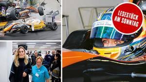 Ziel. Formel 1: Nach schwerem Unfall greift Sophia Flörsch wieder an