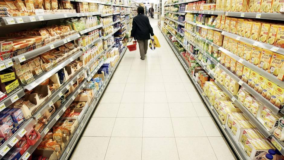Supermarkt: Die Regalfläche ist begrenzt