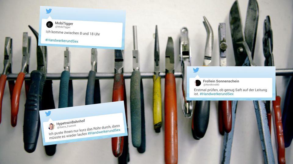 Tweets zum Thema #HandwerkerundSex