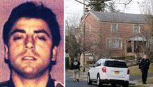 """Der Mafia-Boss Francesco """"Frank"""" Cali wurde vor seinem Haus auf Staten Island, New York, getötet"""