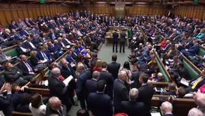 Britisches Unterhaus lehnt ein zweites Brexit-Referendum ab