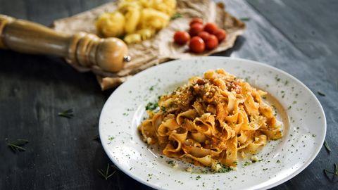 Das Originalrezept der Bolognese stammt aus Bologna.