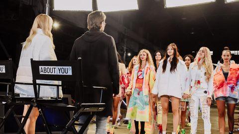 """Bei GNTM sollten die angehenden Models ihre Kleidung zum Spiegel ihrer """"Personality"""" machen"""