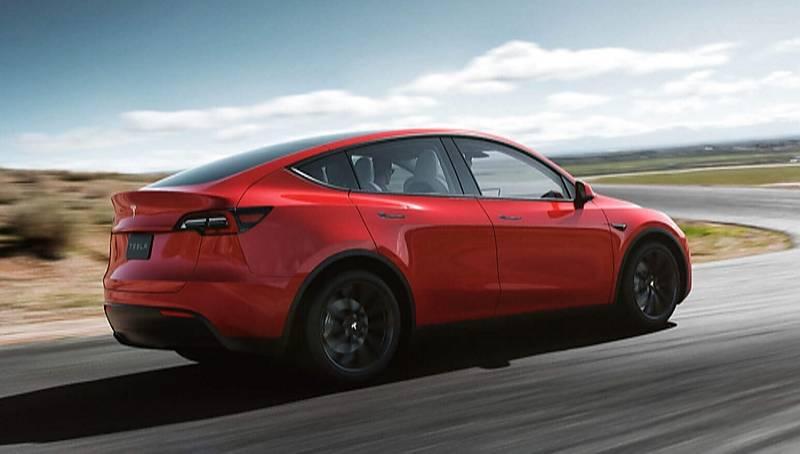 Tesla Model Y - das Design ähnelt dem des Model X