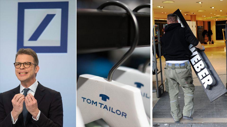 Deutsche Bank, Tom Tailor und Co.: Das sind die zehn schlimmsten deutschen Börsenflops des Jahres