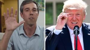 Donald Trump und Beto O'Rourke