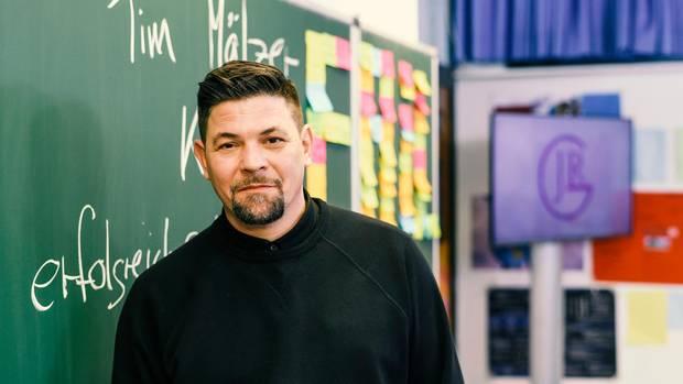 Tim Mälzer als Vertretungslehrer
