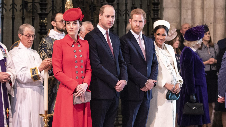 Herzogin Kate, Prinz William, Prinz Harry und Herzogin Meghan