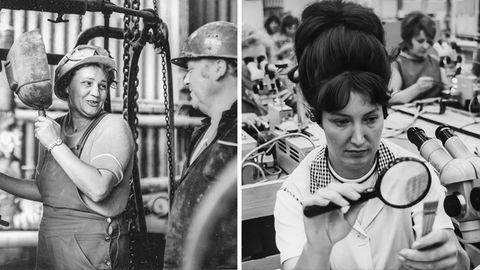 Emanzipiert und stark: Frauen aus der DDR