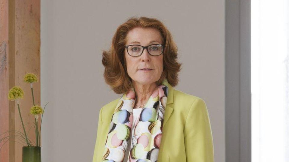 Sabine Herold, Chefin der Firma Delo Industrieklebstoffe. Sie braucht sogar eine A1-Bescheinigung, wenn sie eine europäische Niederlassung besucht.
