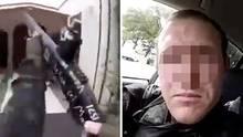 Der 28-jährige Brenton T. filmte seine grausame Tat, offenbar mit einer Helmkamera