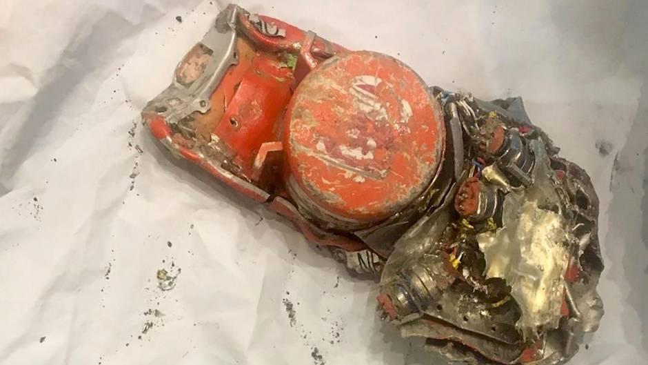 Einer der beiden Flugschreiber derabgestürzten Boeing 737 Max von Ethiopian Airlines