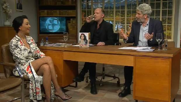 """Verona Pooth in der Late-Night-Show """"Willkommen Österreich"""""""