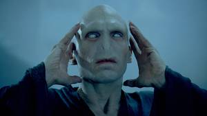"Ralph Fiennes als Lord Voldemort in ""Harry Potter"""
