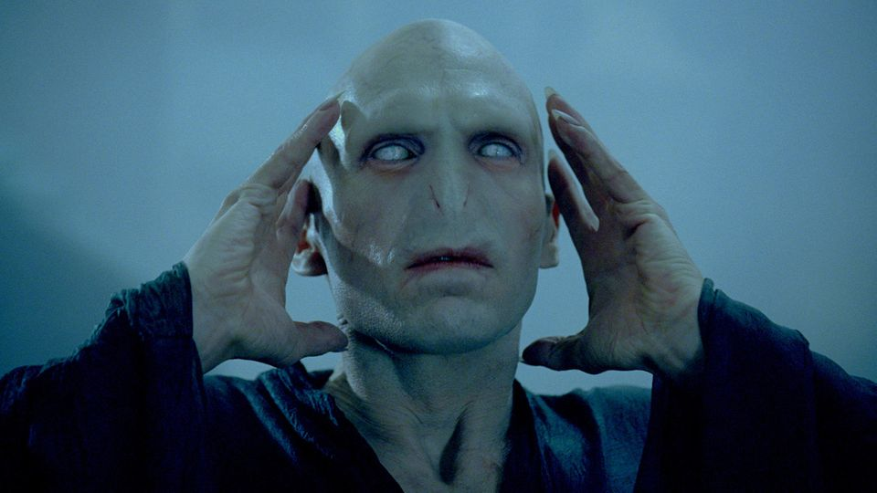 """Ralph Fiennes als Lord Voldemort in """"Harry Potter"""""""