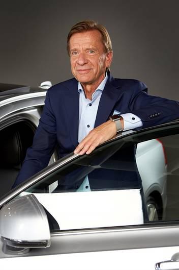 Volvo-Chef Hakan Samuelsson hat sich die Verkehrssicherheit auf die Fahnen geschrieben