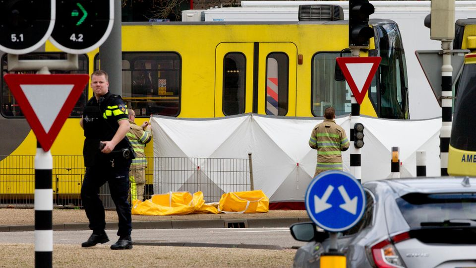 Utrecht - Blick auf den Tatort