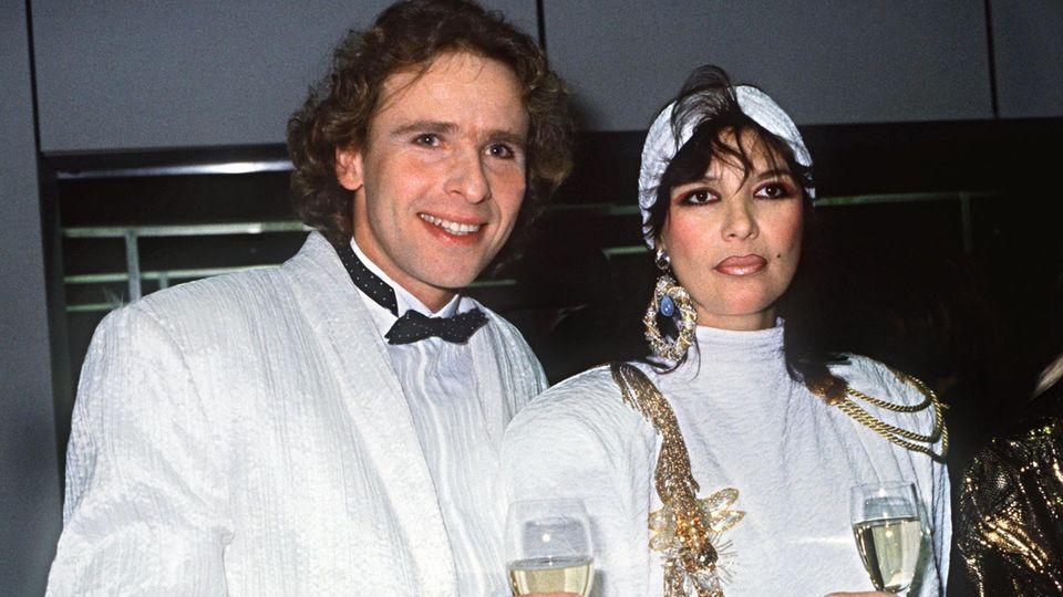 Auch modisch harmonierten Thomas und Thea Gottschalk, hier 1987 bei der Bambi Verleihung