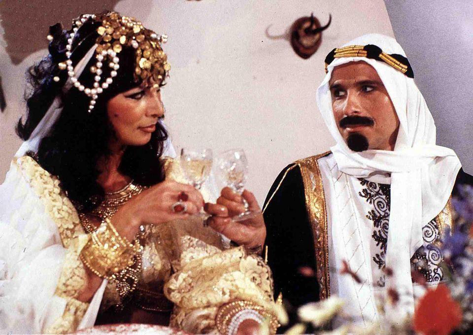 Thea und Thomas Gottschalk für Kinofilm 1983