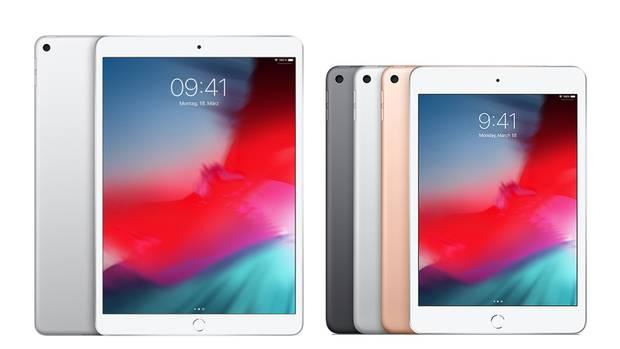 Das iPad Air (links) und das iPad Mini sind deutlich potenter als ihre Vorgänger