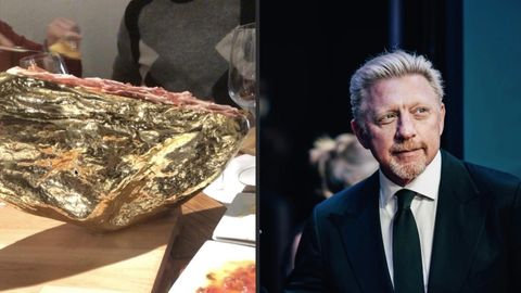 Boris Becker genießt dekadentes Essen