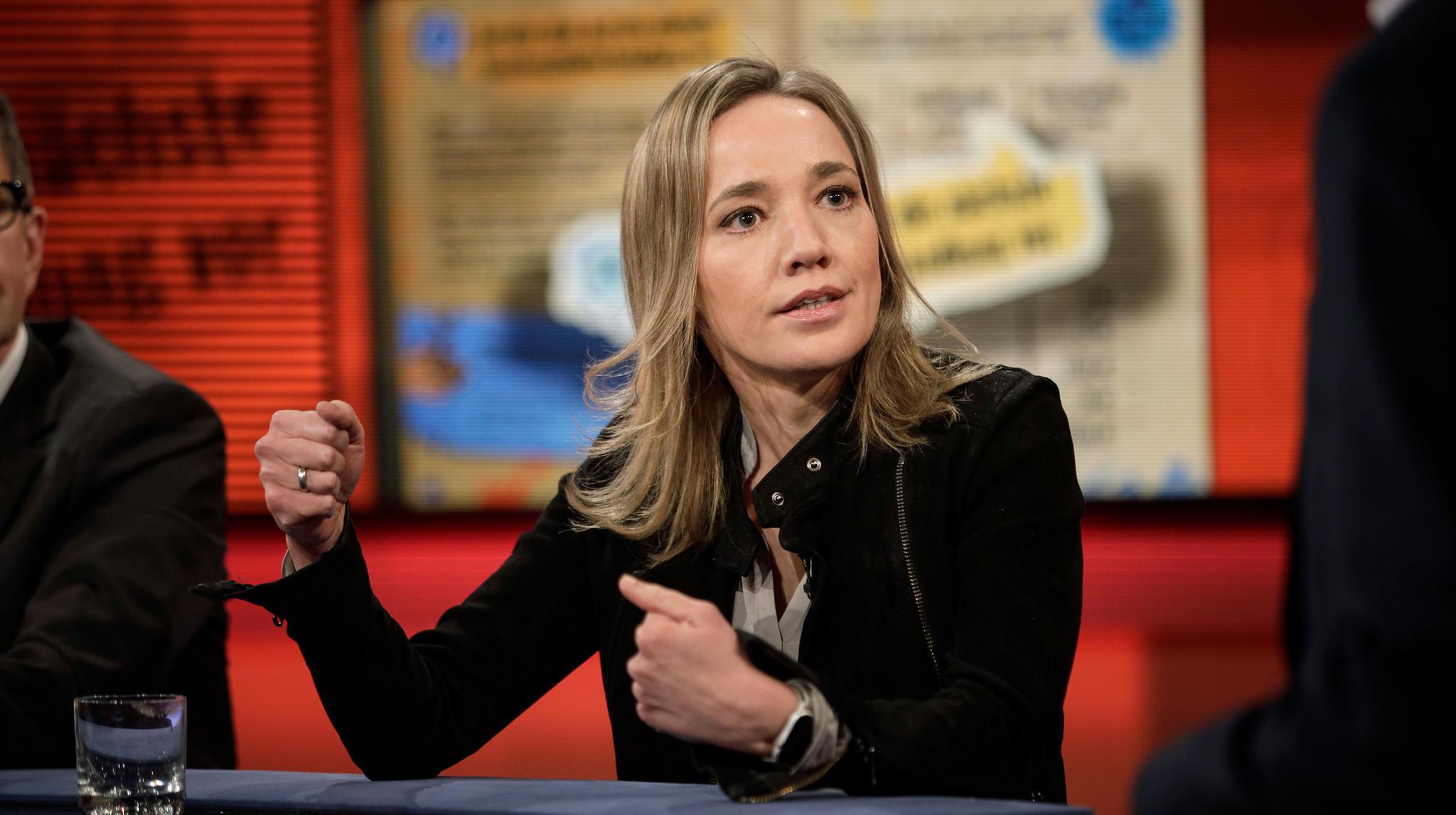 """ARD-Talk """"Hart aber fair"""": Warum sich Ex-Familienministerin Schröder über ungleiche Bezahlung nicht beschwert"""