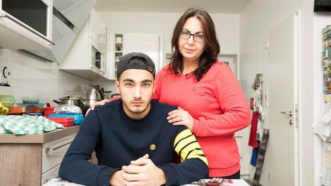KerimUcar und seine Mutter Durna