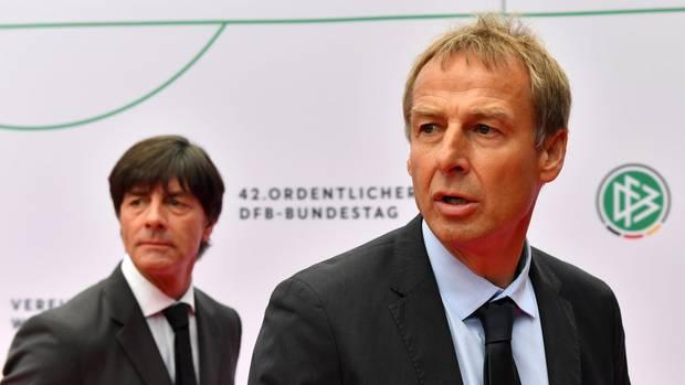 Jürgen Klinsmann und Jogi Löw