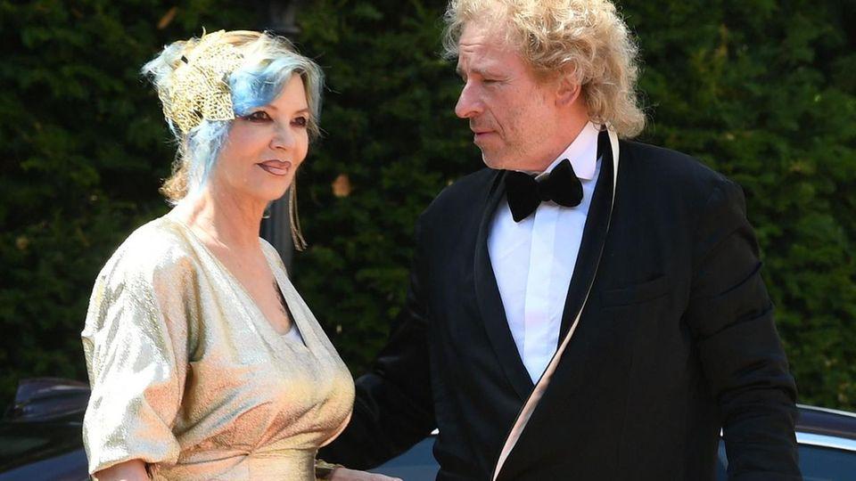 Ihr letzter gemeinsamer Auftritt: Thomas Gottschalk und Ehefrau Thea bei den Bayreuther Festspielen im Juli 2018