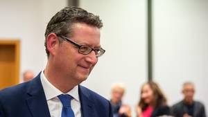 Hessens SPD Partei- und Fraktionschef Schäfer-Gübel