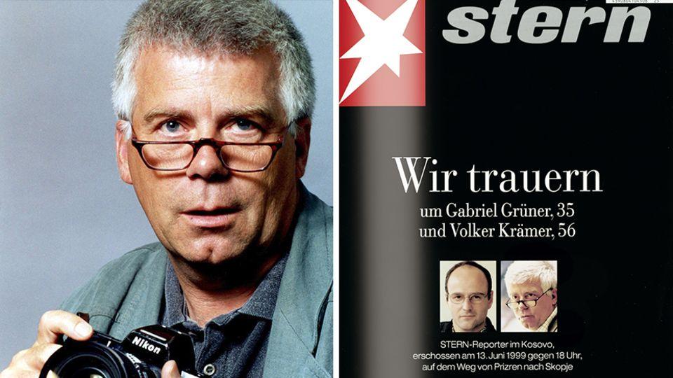 Gedenken an Gabriel Grüner und Volker Krämer: Mord an stern-Reportern: Der Tod kam am ersten Tag des Friedens