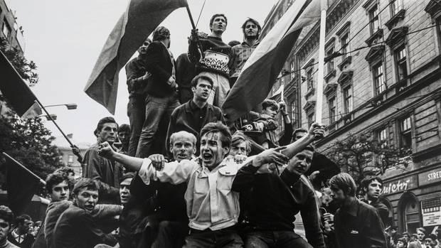 Volker Krämer hielt die unvergesslichen Augenblicke des Prager Frühlings fest