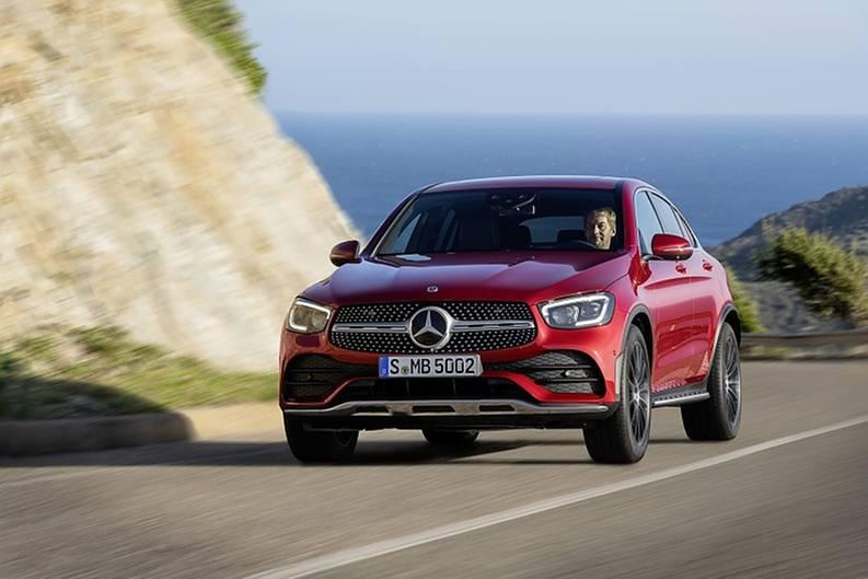 Mercedes GLC Coupé 2020 - LED-Licht endlich serienmäßig