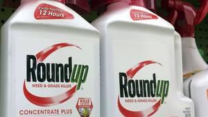 Glyphosatmittel Roundup von Monsanto, der US-Konzern gehört seit vergangenem Jahr zu Bayer