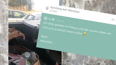 Flixbus: Mann masturbiert neben einer Frau – die bittet Jodel um Hilfe
