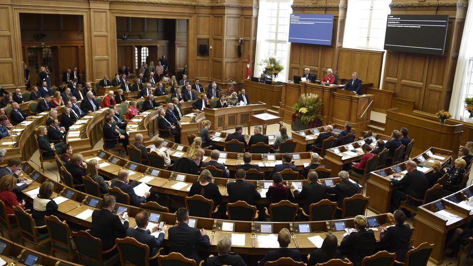 "Das dänische Parlament, das ""Folketing"""