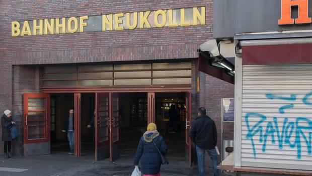 Der S-Bahnhof Neukölln in Berlin als Symbolfoto für Nachrichten aus Deutschland