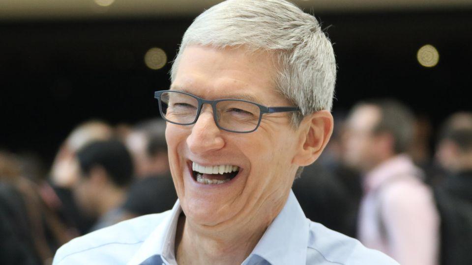 Quartalszahlen: Apple und das iPhone: Tim Cook reißt das Ruder herum