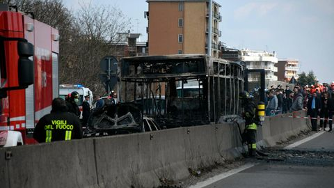 Italien - Entführung - Kinder - Bus - Befreiung
