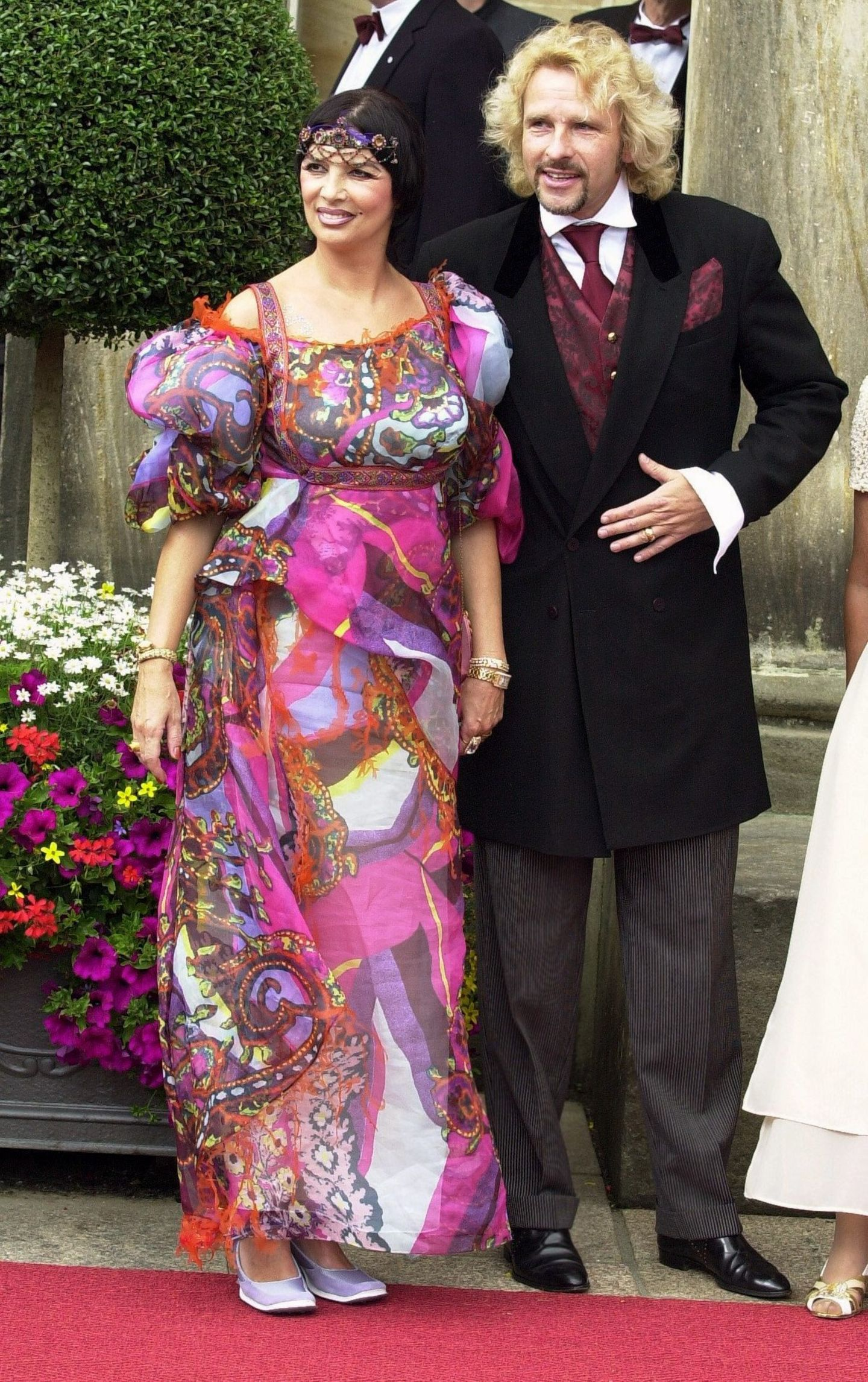 Thomas und Thea Gottschalk: Ihr verrückten Outfits von Bayreuth
