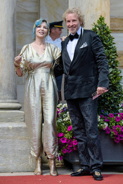 Thea und Thomas Gottschalk 2018 in Bayreuth