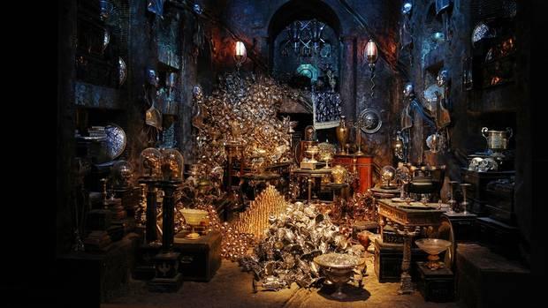 """Ein Highlight der neuen """"Harry Potter""""-Attraktion: das Verlies der Lestranges"""
