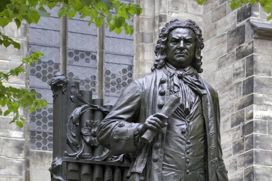 Johann Sebastian Bach Thomaskirche Leipzig