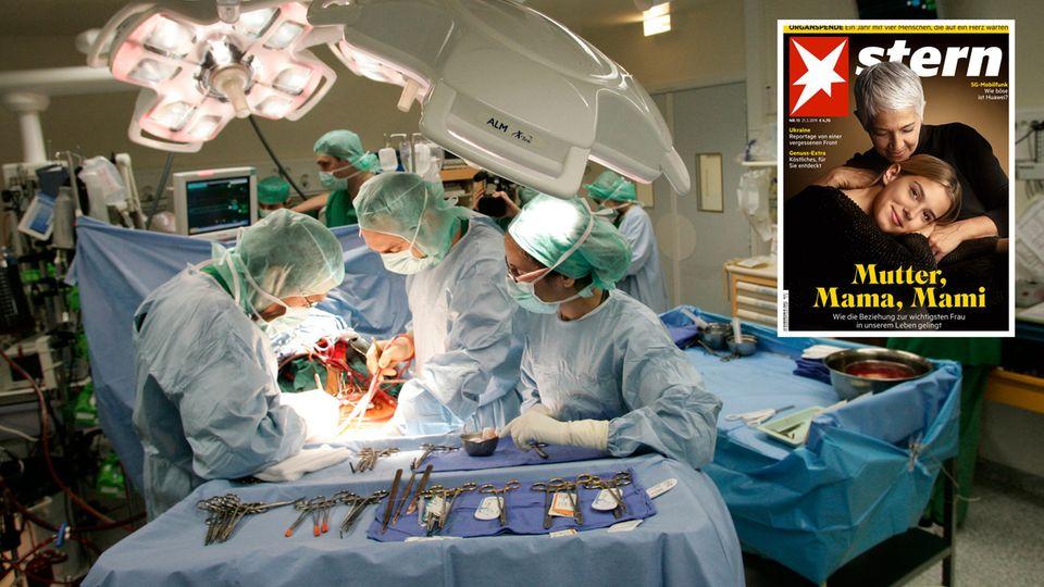 Neue stern-Serie: Organspende - Würden Sie Ihr Herz verschenken?
