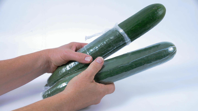 Aldi verzichtet zukünftig bei Salatgurken auf die Plastikfolie