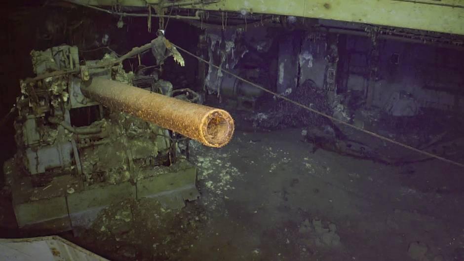 USS Wasp: Wrack von Flugzeugträger 77 Jahre nach Untergang entdeckt