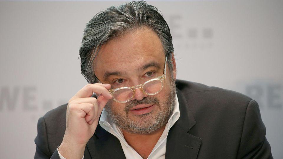 C&A-Chef - Alain Caparros - Herzinfarkt