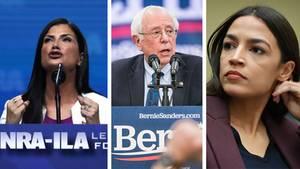 Loesch, Sanders, Ocasio-Cortez